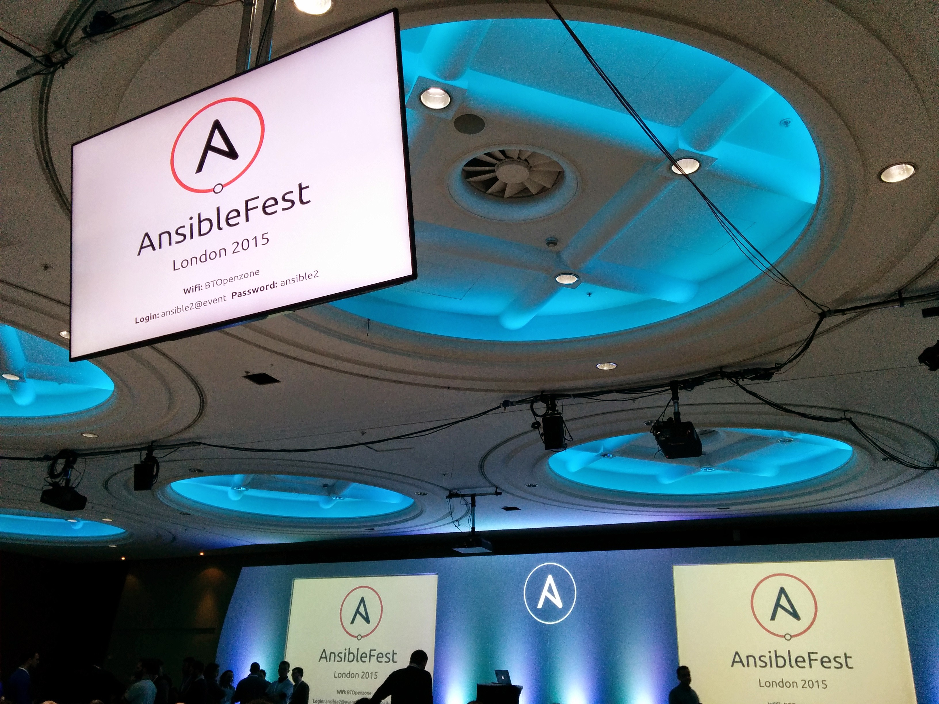AnsibleFest 2015 in London